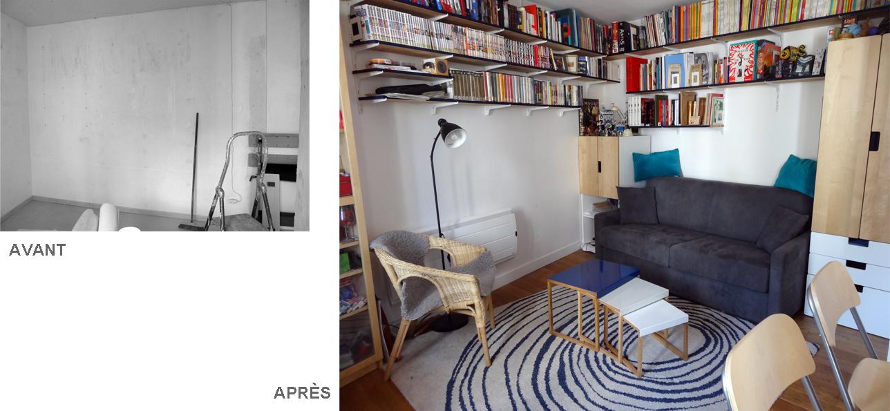 blue lines de l atelier d artiste au studio d un instit paris 13e emilie bouaziz. Black Bedroom Furniture Sets. Home Design Ideas