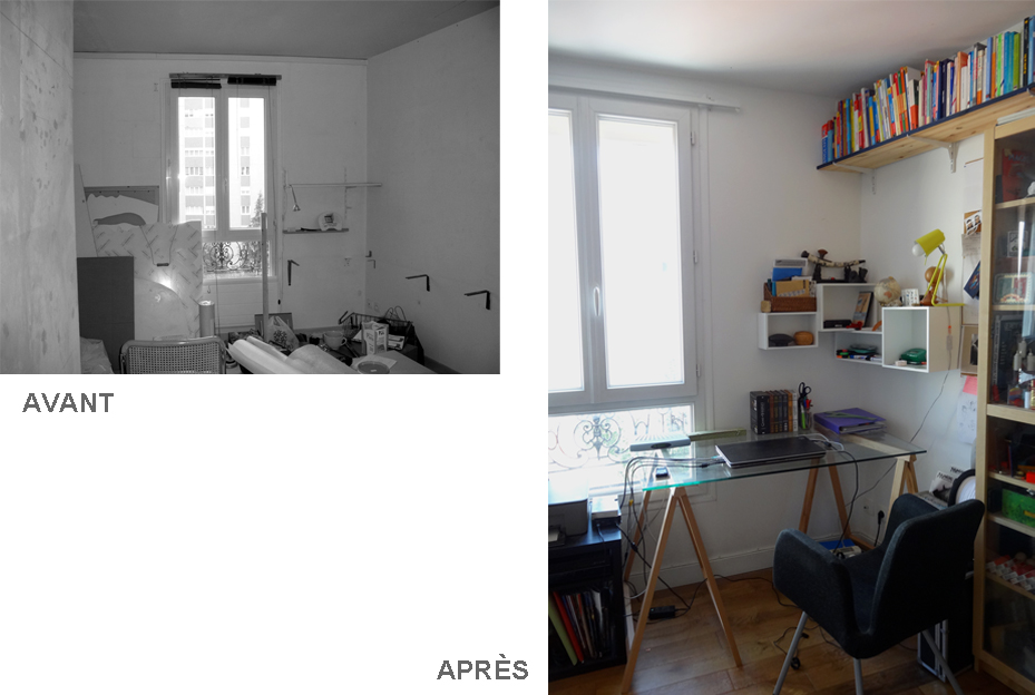 amenagement atelier appartement