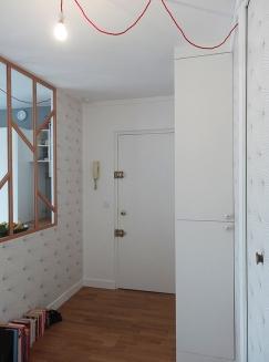 APRÈS : du couloir vers l'entrée