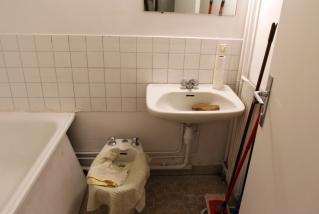 AVANT : la salle de bain