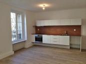 AVANT : la cuisine ouverte sur le séjour