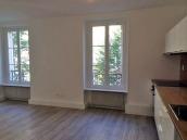 AVANT : l'espace cuisine- salle-à-manger