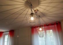 APRÈS : un plafond rayonnant !