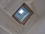 CUISINE : travaux ; réalisation du puit de lumière