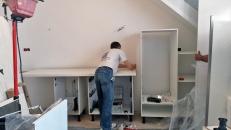 CUISINE : travaux d'installation