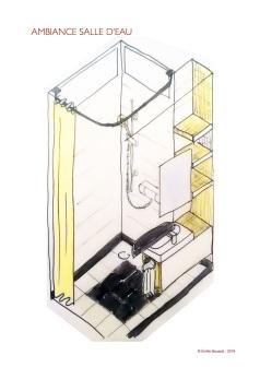Création complète d'une salle d'eau pour les enfants