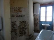 Salle de bain : AVANT