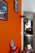 Chambre enfant orange