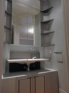 Le cabinet de toilette APRES