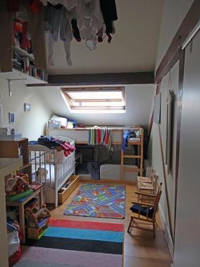AVANT : chambre d'enfant