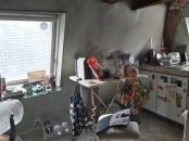 AVANT : une cuisine exigüe et vieillissante