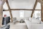 APRES : un petit salon cosy, lumineux et chaleureux