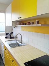 APRES : des lignes épurées dans la cuisine