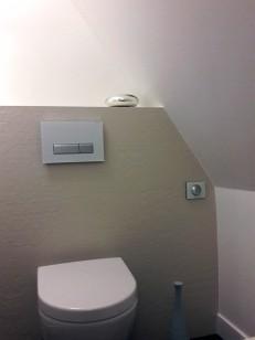 APRES : rénovation élégante du WC invité