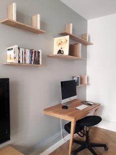 APRES : un coin bureau discret et intégré