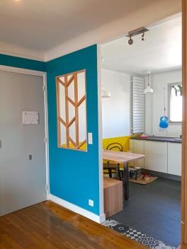 APRES : plus de chaleur, de gaité et de communication dès l'entrée de l'appartement