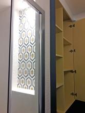 APRES : la salle d'eau : jolie, fonctionnelle et pratique grâce à ses rangements