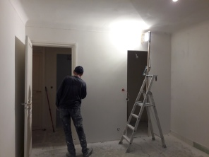 TRAVAUX : transformation de la chambre parentale